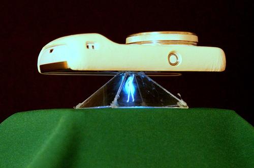 Голографический проектор для телефона своими руками